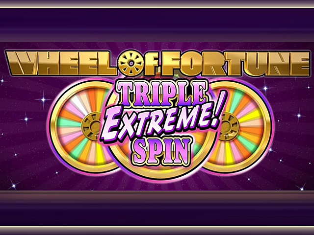 Играйте в Vulcan 24 в Wheel Of Fortune: Triple Extreme Spin