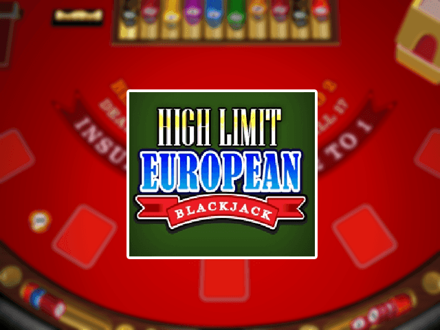 Игровой автомат High Limit European Blackjack
